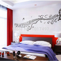 Large size 197*45cm DIY Butterfly decorative wall decal stickers for bedroom,living room decor