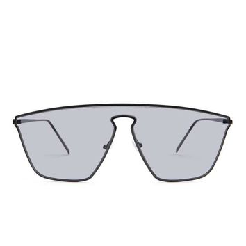 Geometric Shield Sunglasses