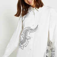 Angel Chen Beast Oversized Shirt | Urban Outfitters