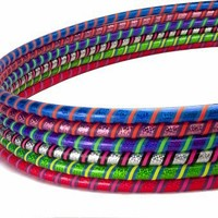 Weighted Hula Hoop for Exercise and Fitness - 1.5 and 2.0 lbs - MADE IN USA - Ship 1 or 100 One Low Price
