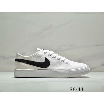 Nike Primo Court Canvas men's and women's canvas shoes casual white shoes F-AA-SDDSL-KHZHXMKH White+black hook