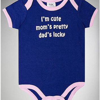 I'm Cute Baby Bodysuit - Spencer's