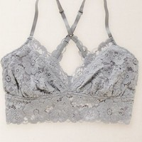 Aerie Women's Lace Cross-back Bralette