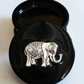 Elephant Three part Magnetic Herb Weed Tobacco Grinder