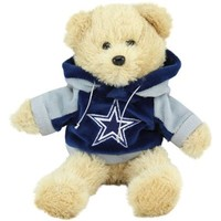 Dallas Cowboys 8'' Plush Hoodie Bear
