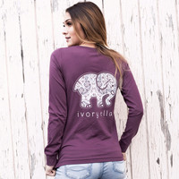 Perfect Fit Royal Purple Rosemale Tee