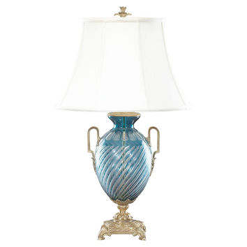 Bluepointe Table Lamp, Pale Blue, Table Lamps