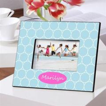 Colorful Bright Personalized Picture Frames