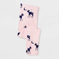 Toddler Girls' Deer Legging - Cat & Jack™ Light Pink