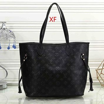Louis Vuitton LV Women Fashion Leather Handbag Satchel Shoulder Bag Crossbody