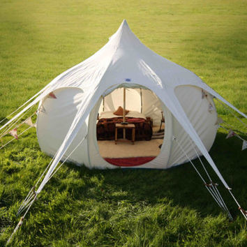 Lotus Belle 5 Metre beautiful handmade gl&ing tents yurt tipi teepee & Best One Man Tent Products on Wanelo