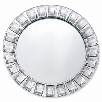 Round Mirror Vanity Tray/Charger