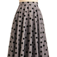 Give Us a Spin Skirt | Mod Retro Vintage Skirts | ModCloth.com