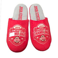 Ohio State Official NCAA 2014 National Champions Men's Slippers