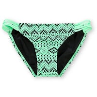 Malibu Summer Crochet Side Strap Bikini Bottom