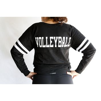Light Weight V-Neck Volleyball Cotton Jersey