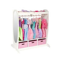 Dress Up Storage Center in White
