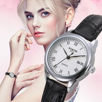 2017 Fashion Women Watches Luxury Top Brand Ladies Wristwatch Genuine Leather Strap 30m Waterproof Casual Female Watch Montre
