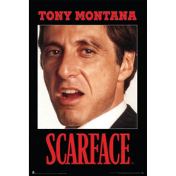 Scarface Domestic Poster