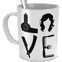 Love Hairstylist lovehairmug