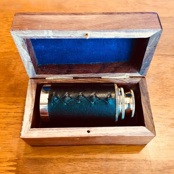Handheld 6 Inch Brass Nautical Telescope