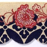 Scalloped Ixora Doormat