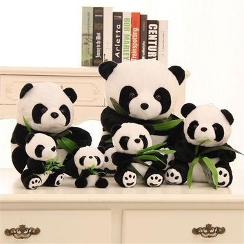 Super cute enough simulation giant panda doll large plush toy panda doll plush panda gift toy panda dolls baby toys cartoon gift