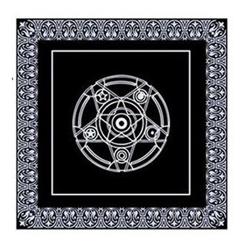 Family Friends party Board game 49*49cm pentacle Tarot game tablecloth non-woven material  textiles tarots table cover playing cards AT_41_3