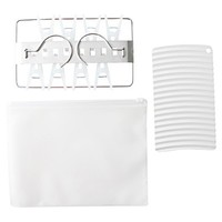 Portable Laundry Set Washing Board and Mini Square Hanger