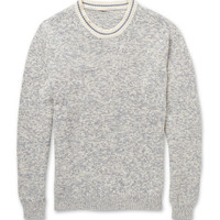 Massimo Alba - Knitted-Cotton Crew Neck Sweater | MR PORTER