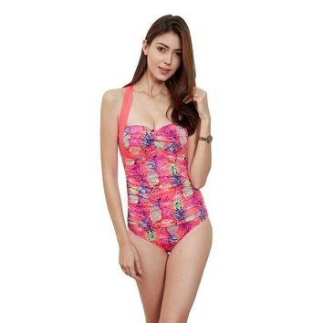 VONETDQ 2017 One Piece Swimsuit Swimwear Monokini Bathing Suit Swimming Suit For Women Tankini Swimsuits Women Push Up Swimwear Sexy
