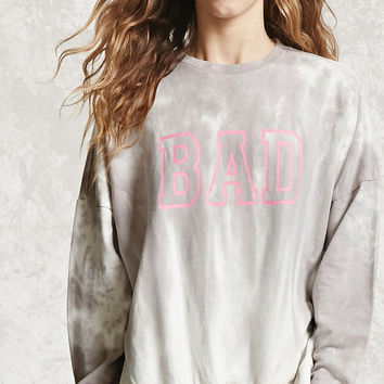 Bad Graphic Tie-Dye Sweatshirt