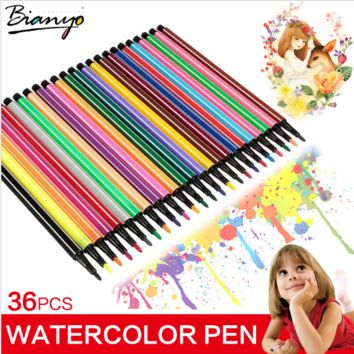 Watercolor Pens (36 Pens)