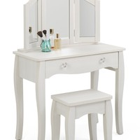 Lindsay Vanity with Stool -4DC Concepts