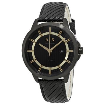 Armani Exchange Copeland Black Dial Mens Watch AX2266