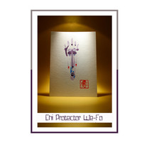 "Feng-shui Chi Protector for South East ""We-Fo""- Original Acrylic Painting, Acrylic Painting on Paper, Feng-shui friendly, Free Delivery"