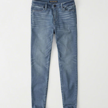 Womens Super Skinny Ankle Jeans | Womens Bottoms | Abercrombie.com