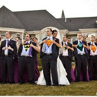 Wedding Inspirations / Superhero wedding!