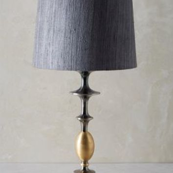 Chandelle Table Lamp Ensemble by Anthropologie in Dark Grey Size: One Size Lighting