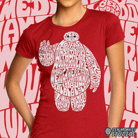 Doctor's Orders - Big Hero 6 inspired Baymax shirt - Ladies Fit Sizes