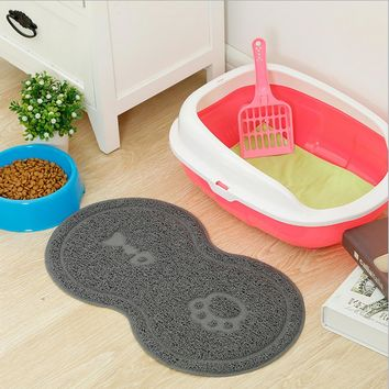 Cat or Dog Bowl Mat, Feeding Water and Food Helps to Keep Clean Floors