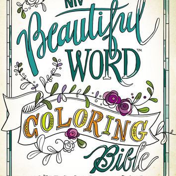 NIV Coloring Bible for Bible Journaling - Beautiful Word Coloring Bible, Hardcover