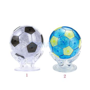 Crystal Puzzle Soccer Model