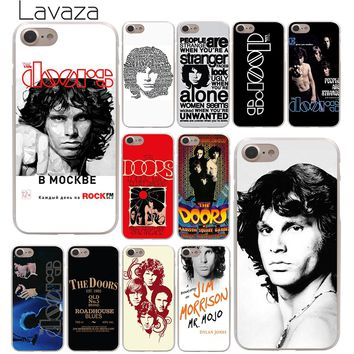 Lavaza The doors JIM MORRISON Hard Phone Cover Case for Apple iPhone 10 X 8 7 6 6s Plus 5 5S SE 5C 4 4S Coque Shell