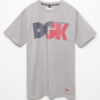 DGK Neverending Hustle T-Shirt - Mens Tee - Grey