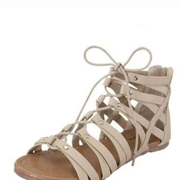 Jenny Strappy Gladiator Sandals