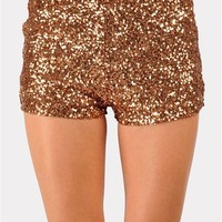 Sequence Of Events Shorts - Gold at Necessary Clothing