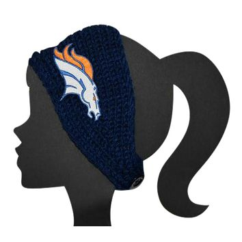 Broncos Knit Headband