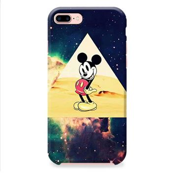 disney Mickey mouse Hipster Triangle Galaxy iPhone 8 | iPhone 8 Plus Case