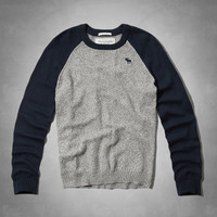 Mountain Pond Baseball Sweater